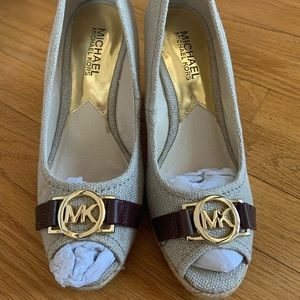 BRAND NEW micheal kors shoes